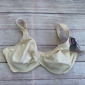 Bali Underwire 42D Nude Cream Bra Silky Smooth